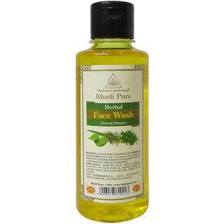 Khadi Pure Herbal Face Wash - 210ml