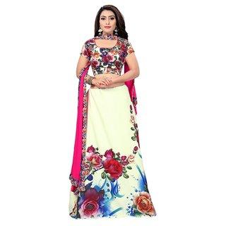 0bedf2cf6e7 Buy Great Rate Women s Crepe Digital Printed Semi-Stitched Lehenga Choli  (L-101 Digital Lehenga) Online - Get 68% Off