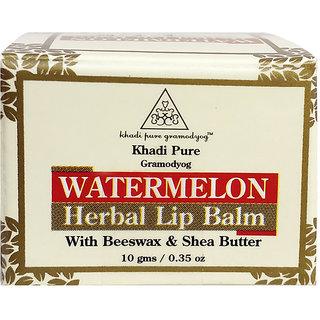 Khadi Pure Herbal Watermelon Lip Balm - 10g