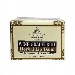 Khadi Pure Herbal Wine Grape Fruit Lip Balm - 10g