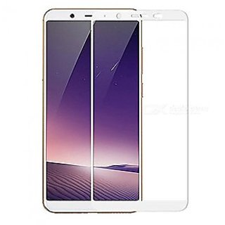 Vivo Y71 5D White Tempered Glass Standard Quality