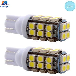 28 SMD LED Parking Indicator Socket Light (White, 12V)
