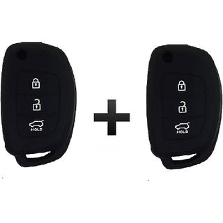 hyundai i20 new car key cover black 2pcs