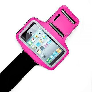 Favourite Deals Armband Cover Pouch For Galaxy S6 SM-G920I (Pink)
