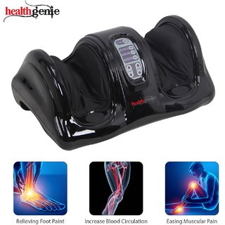 Healthgenie Foot Massager for Pain Relief with Kneading Function - Black