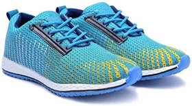 OORA Casual Shoes For Men Blue multi Color office Party Wear Men's Laced Running sports Shoes