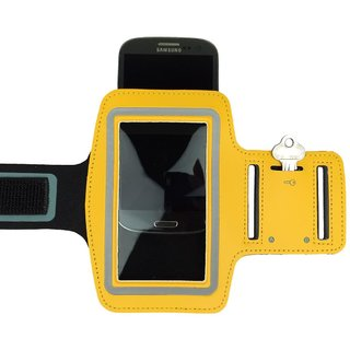 Favourite Deals  Arm Band With Velcro Strap (Yellow)