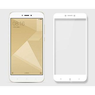 Redmi Y1 Lite White 5D Tempered Glass Standard Quality