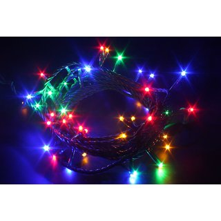 Flickering Multi-Coloured Lights (5 mts) for All Festivals/ Occasions (1 pc)