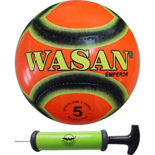 Wasan Football Emperor Orange- with a Free Pump (12 years and above)
