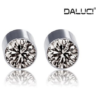 Daluci Strong Magnet No Ear Hole Fake Stud Boys S Earrings Health Care Jewelry