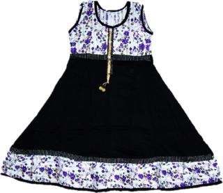 Women Black Color Frock Dress