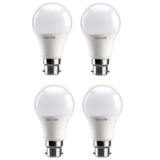 Vizio 12 Watt Premium Quality Led Bulbs (pack of 4) with 1 year warranty