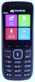 Micromax X424+ Dual Sim Mobile Phone(Blue)