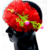Proplady Floral Design Cutwork Baby Girl  Head Band (Pack of 1, Red)