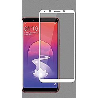 Oppo Realme 1 White 5D Glass Standard Quality