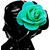 Proplady Princess Shimmery Rose Metal Hair Band, Head Band  (Pack of 1, Turquoise)