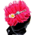 Proplady Princess Floral Cutwork Stone Studded Hairband, Head Band  (Pack of 1,Pink)