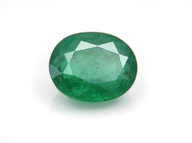 SUPER  FINE QUALITY EMERALD 5.25 carat certified (panna) stone BY THE GALLERY OF GEMSTONE