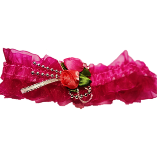 Proplady Princess Floral  Baby Headband, Hair Accessories for Newborns and Baby Girls (Pink)