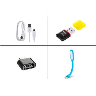Vizio Data cable combo With Card reader, OTG and Usb Light