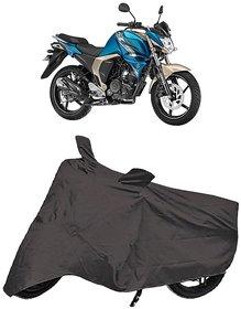 De AutoCare Premium Quality Grey Matty Two Wheeler Bike Body Cover for Yamaha FZ-S