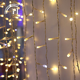 Pack of 2 Kitchenraft Electric Plastic Decorative String Light Approx 5 Mtr (Assorted Color)