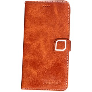 new product 3e439 37ac2 vivo y81 mobile's flip cover high qualkity new stylish look artificial  leather