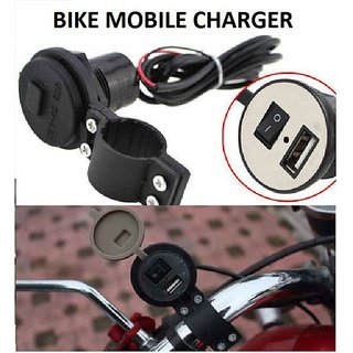 Bike mobile Charger and Holder.
