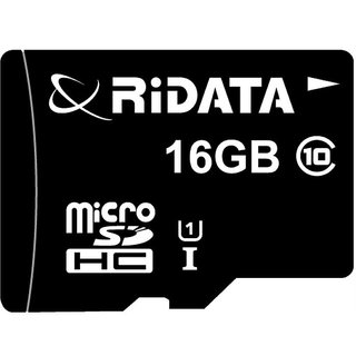 Ridata Ultra 16  GB SDHC Class 10 70 MB/s Memory Card with Adapter MicroSD Cards