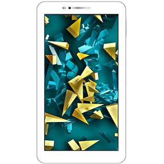 I Kall N8 New (1+8)GB, 7 Inch with Wi-Fi, Dual Sim Calling  Tablet (Gold) with Manufacturing Warranty