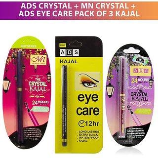 ADS Crystal + MN Crystal + ADS Eye Care Pack of 3 Kajal