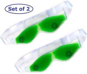 KKS combo of 2 Aloe Vera Gel Eye Cool Mask Multipurpose Magnetic Clears Eye Sight