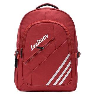 LeeRooy Nylon 22 Ltr RED Sling Bag Backpack For Men