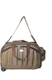 VIDHI Expandable Foldable duffle bag with wheels