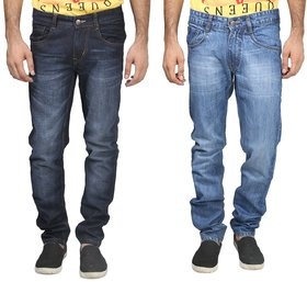 Trendy Trotters Men's Black Regular Fit jeans