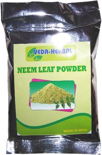 Veda Herbal - Neem Powder 100 Natural  offer pack(4pcs)