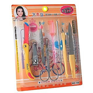 Compact Manicure / Pedicure Set / Kit (Set of 8)