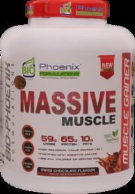 Bio Phoenix Formulations Massive Muscle 1 Kg Mass Gaine