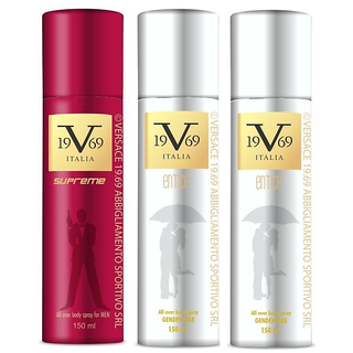 versace  2 entice  1 supreme ( pack of 3)