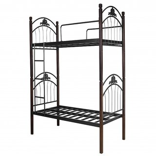 Swastik Furniture -  604 Metal Bunk Bed  (Finish Color - Black)