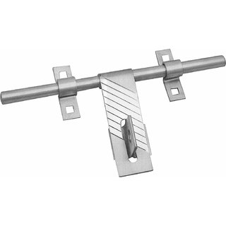 MH Door Aldrop 4 Pc Fiero Stainless Steel 10 Inches Nickel Silver