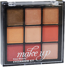 Kiss Beauty Makeup Eyeshadow Kit Shade-A01 Pack of 1 With Free Adbeni Kajal Worth Rs.125/