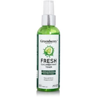 Fresh Cucumber Mint Toner (100ml) By Greenberry Organics