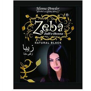 Buy 30pc Zeba Natural Black Henna Powder Online Get 0 Off