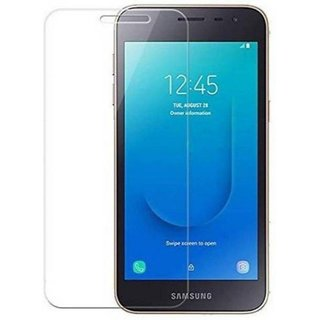 Tempered Glass Screen Protector 0.3mm Thickness (2.5D Curve) Ultra Clear for Samsung Galaxy J2 Core