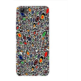 PREMIUM STUFF PRINTED BACK CASE COVER FOR VIVO Y53 DESIGN 8782