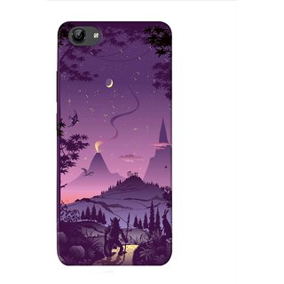 PREMIUM STUFF PRINTED BACK CASE COVER FOR VIVO Y66 DESIGN 8293