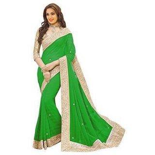 ab817dd7711ca Buy Women Lifestyle Designer Solid Bollywood Georgette Sarees Online - Get  78% Off