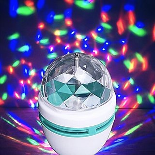 Disco light Led bulb with auto rotating function